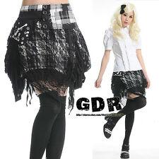 PUNK DOLLY gothic RUFFLE Lolita LAYER 71199 White SKIRT