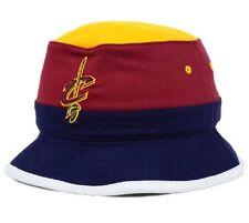 8a0e29fd63d New Mitchell   Ness NBA Cleveland Cavaliers Cavs Color Block Logo Bucket Hat  ...