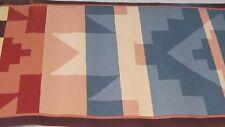 Waverly Wall Wallpaper Border Southwestern Aztec Indian Red Blue Pink 563010 NIP