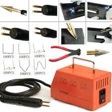 Hot Stapler Kit Welder Welding Machine 220V For Plastic Auto Bumper Body Repair