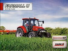 CASE Farmall U 12 / 2012 catalogue brochure Traktor tracteur tractor