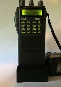 Alinco DJ-580T VHF/UHF Twin Band Transceiver w/ Desktop Ch 144/440 MHz Ham Radio