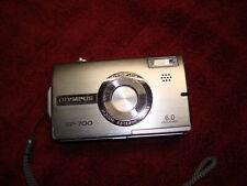 Olympus SP Series SP-700 6.0 MP Digital Camera - Silver