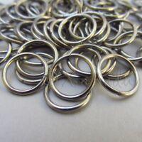 Jump Rings 12mm - 50/100/200 Stainless Steel 16 Gauge Open Jump Rings F7455
