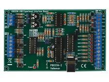 VELLEMAN K8055N USB EXPERIMENT INTERFACE BOARD KIT/ NEWEST MODEL