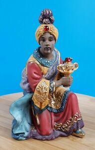 Kirkland Christmas Porcelain Nativity Replacement Piece Wise Man Kneeling King