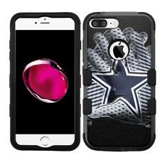 for iPhone 8 Plus Rugged Rubber+Hard Hybrid Case Dallas Cowboys #Glove