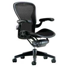 Herman Miller Aeron Chair Size B Medium Fully Adjustable Graphite Frame