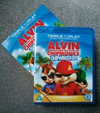 Alvin And The Chipmunks - Chipwrecked (Blu-ray and DVD Combo, 2012) in Slipcover