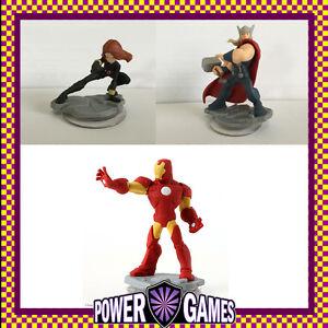 Disney Infinity 2.0 Avengers iron man & black widow & Thor Brand New