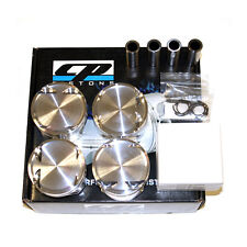 CP FORGED PISTONS SC7028 FOR HONDA D16Y7 75.50MM 9.0:1 CR 96-00 CIVIC CX/DX/LX