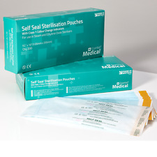 Sterilisation Pouches 135 x 255mm Self Seal Bags