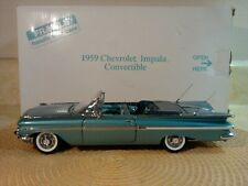 New ListingDanbury Mint 1959 Chevrolet Impala.I:24 Nos Undisplayed.Rare Color.Perfect
