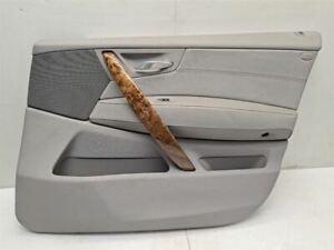 08 2008 BMW X3 OEM PASSENGER RIGHT FRONT DOOR TRIM PANEL CARD GRAY VINYL