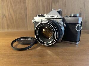 READ : Near Mint Olympus OM-1 MD Film Camera w/ Auto S 50mm F/1.8 Lens From JP