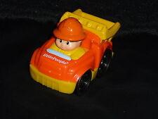 Fisher Price Little People Wheelies Construction Dump Truck & Man