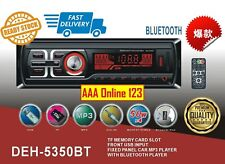 Car Audio Player Bluetooth Single Din Stereo Car MP3 Player with SD USB AUX-IN F