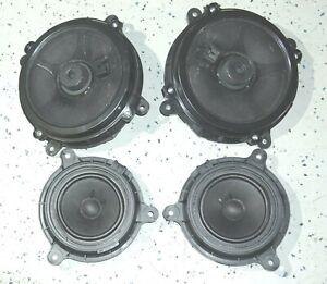 2014-2019 Mazda 3 BM/BN BOSE Front/Back Door Speakers A SET OEM Genuine