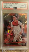 2020-21 Panini Prizm Draft Picks Lamelo Ball RC #43 Red Cracked Ice PSA 10