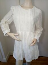 Princess Highway Long Sleeve White Lace Dress | Size 16