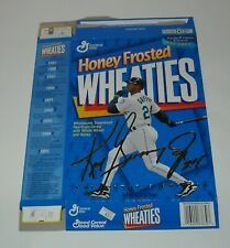 1995 GENERAL MILLS HONEY FROSTED WHEATIES CEREAL BOX FLAT KEN GRIFFEY JR EDITION