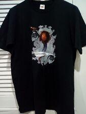 Mens Robert Plant The Enchanter Tour 2005 Short Sleeve Black T Shirt Size M