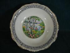 "Royal Albert Silver Birch 9 1/2"" Diameter Round Vegetable Serving Bowl"