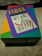 VINTAGE 1989 TABOO MILTON BRADLEY GAME COMPLETE EXCELLENT PRE-OWNED CONDITION