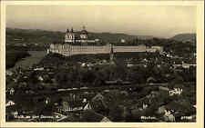 Melk Donau Niederösterreich Wachau Österreich s/w Echtfoto-AK ~1940 Stift Melk