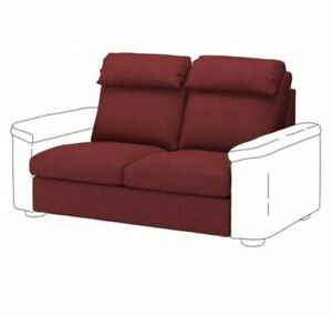 NEW IKEA Lidhult 2 Seat Sofa COVER Red Loveseat Sleeper Slipcover 004.051.47 NIB
