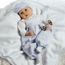 Realistic Lifelike Prince George Royal Baby Doll, 22 inch in Silicone-like Vinyl