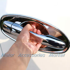 New 8pcs Chrome Door Bowl Cover Trim For Nissan Rogue X-trail 2014 15 16 17 2018
