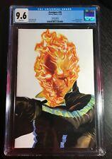 Avengers #36 Alex Ross CGC 9.6 Ghost Rider Timeless Virgin cover variant