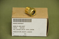 Military Liquid Sight Indicator Gas Flow Level Copper 24346 6680-01-468-5897
