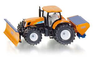 Tracteur Avec Bouclier Et Épandeur, Siku Super 1: 50, Art.2940, Nouveau 09/2013