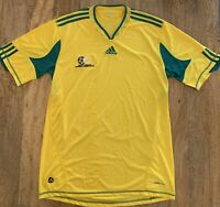 SOUTH AFRICA FOOTBALL JERSEY SOCCER SHIRT ADIDAS XL