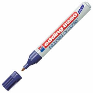Edding 8280 UV Security Marker Pen Ultra Violet - Superb German Quality!