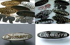 TVR badge restauration, re-enamelled & or ou plaqué chrome