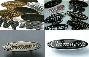 TVR Badge Restoration, Re-Enamelled & Gold or Chrome Plated