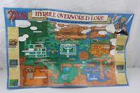 The Legend of Zelda A Link to Past Super Nintendo SNES Map Poster Insert