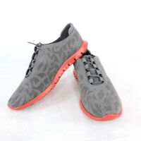 Cole Haan ZeroGrand Womens US Size 8.5 B Gray Perforated Training Sneakers