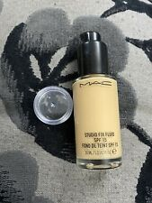 Genuine MAC Studio Fix Fluid Foundation NC37 3ml Sample Pot