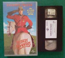 VHS FILM Ita Commedia DUDLEY DO-RIGHT brendan fraser ex nolo no dvd(VH99)
