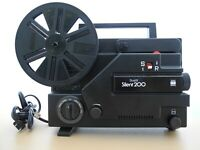 Sears Dual 8 Silent 200 Movie Projector for Regular 8 and Super 8 Film
