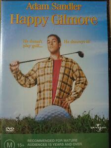 Happy Gilmore NEW / SEALED DVD Adam Sandler Christopher McDonald Julie Bowen R4.