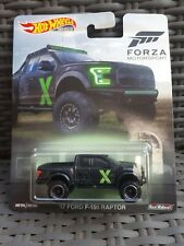 Hot Wheels Forza Motorsport 17 Ford F-150 Raptor Premium Real Riders New 2019