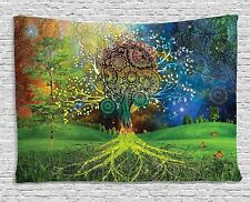 Colorful Tree Tapestry Art Wall Hanging Tapestry Decorative Tapestry Rome Decor