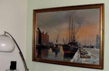 Art Deco-Schiffe & Seefahrt Öl-Malerei-künstlerische