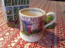 Emma Bridgewater  Year In The Country  MUM 1/2pt Mug  New First Best DISCONT