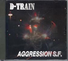 D-TRAIN - Aggression S.F. (NEW*US THRASH METAL 1997*PRIVATE*FORBIDDEN*HELLHOUND)